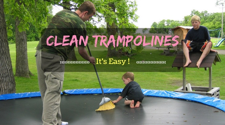 Steps in Cleaning the Trampoline