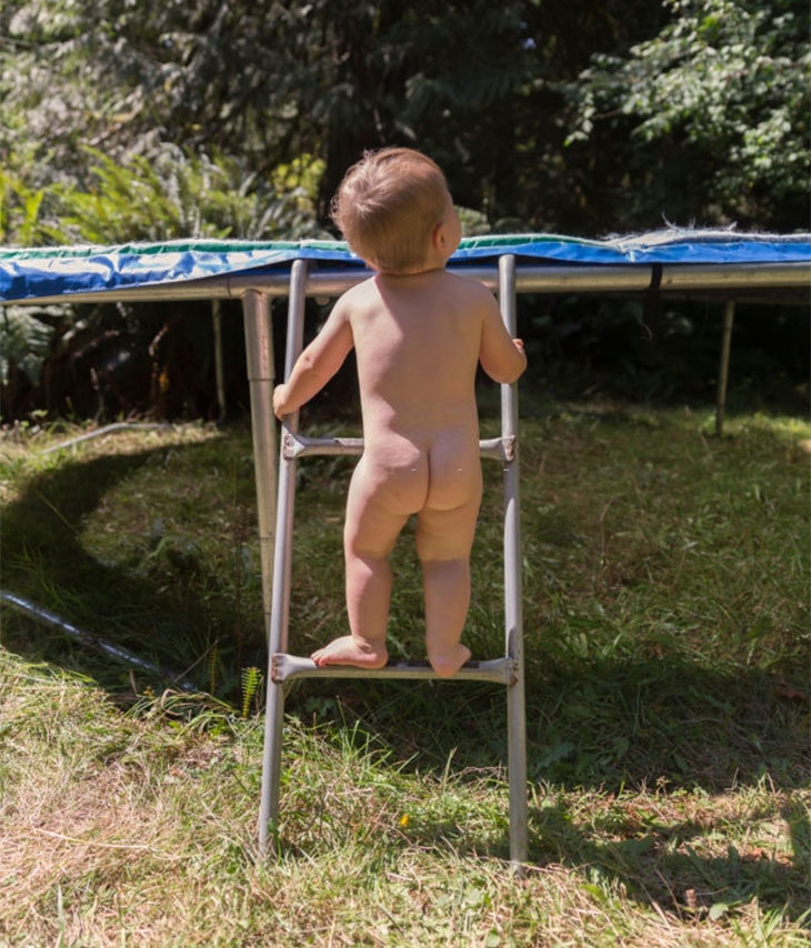 trampoline ladder amazon