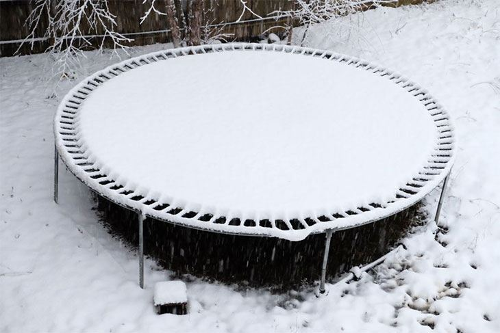 best trampoline covers winter