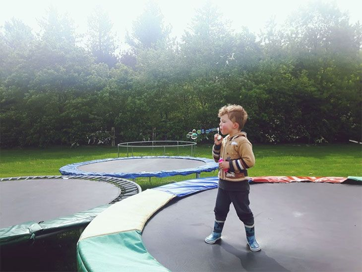 best quality trampoline pads