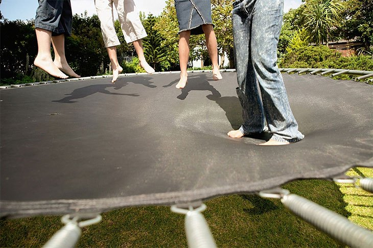 best trampoline mat repair kit
