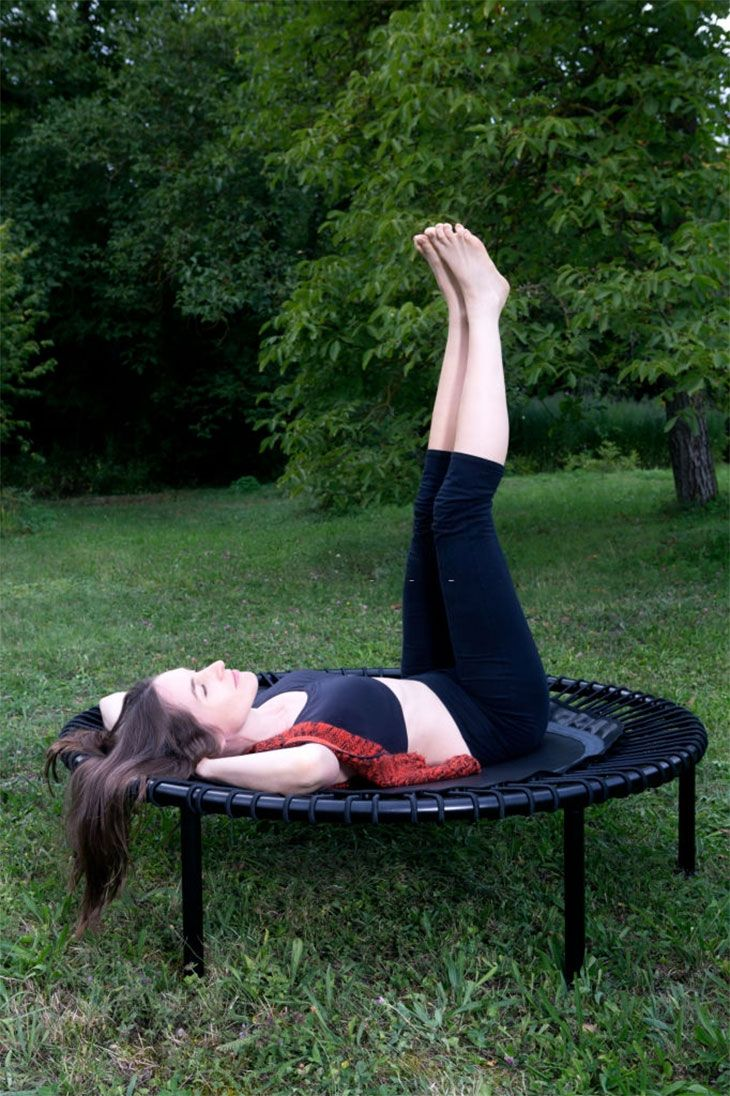 trampoline exercise class benefits