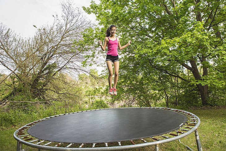 rebounder trampoline exercise benefits
