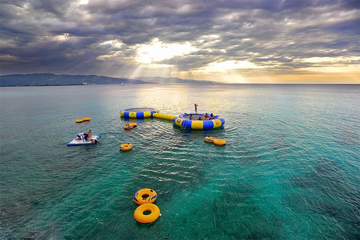 best inflatable water trampoline