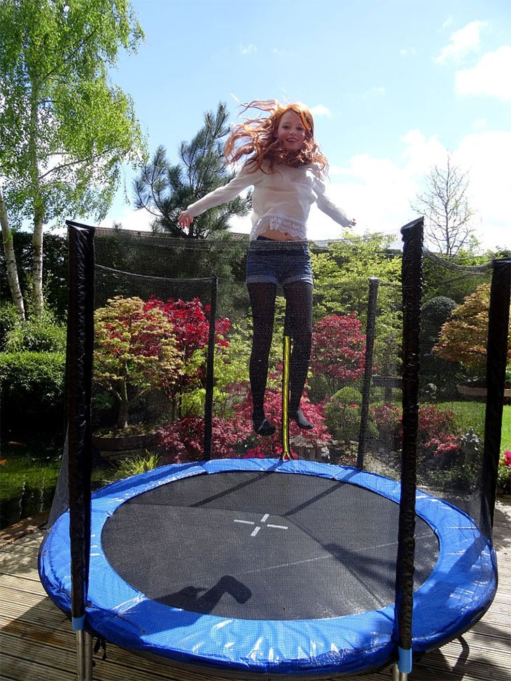 trampoline for daycare