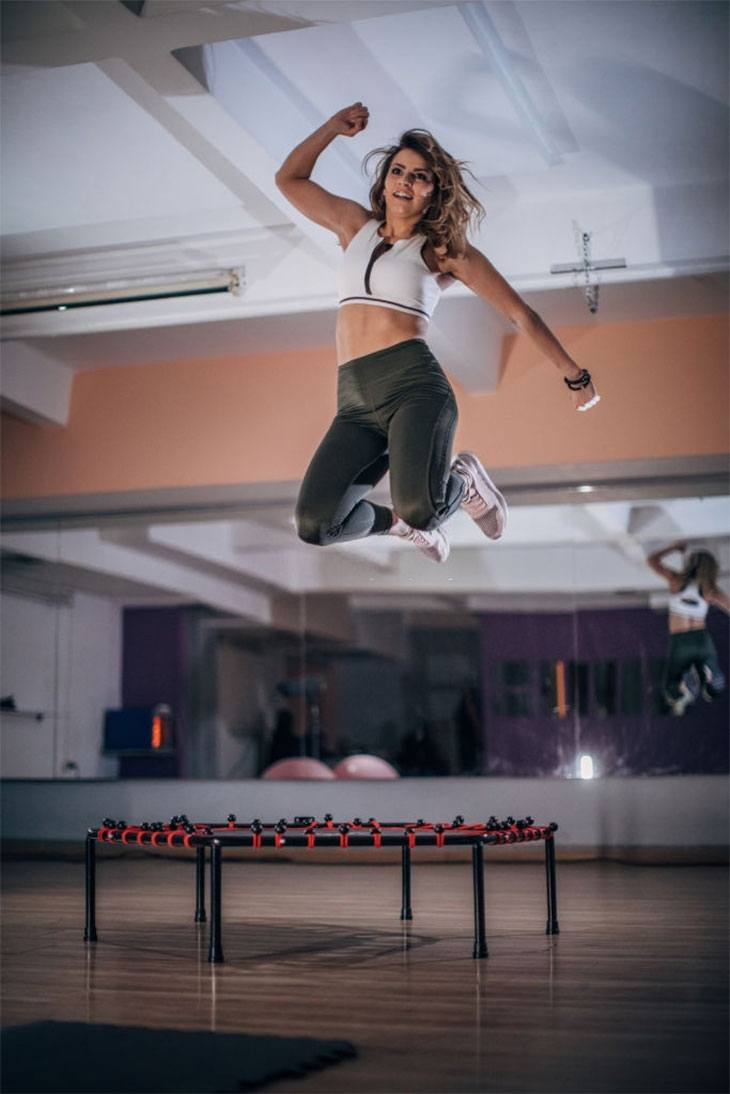 exercise benefits of mini trampoline